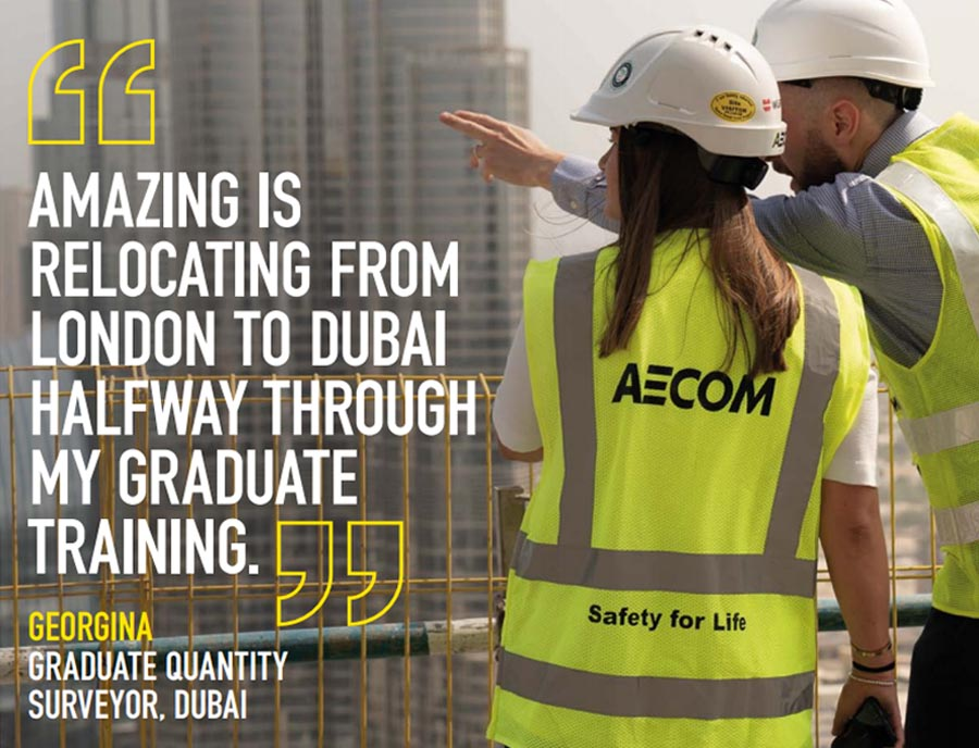 AECOM graduate programme for women