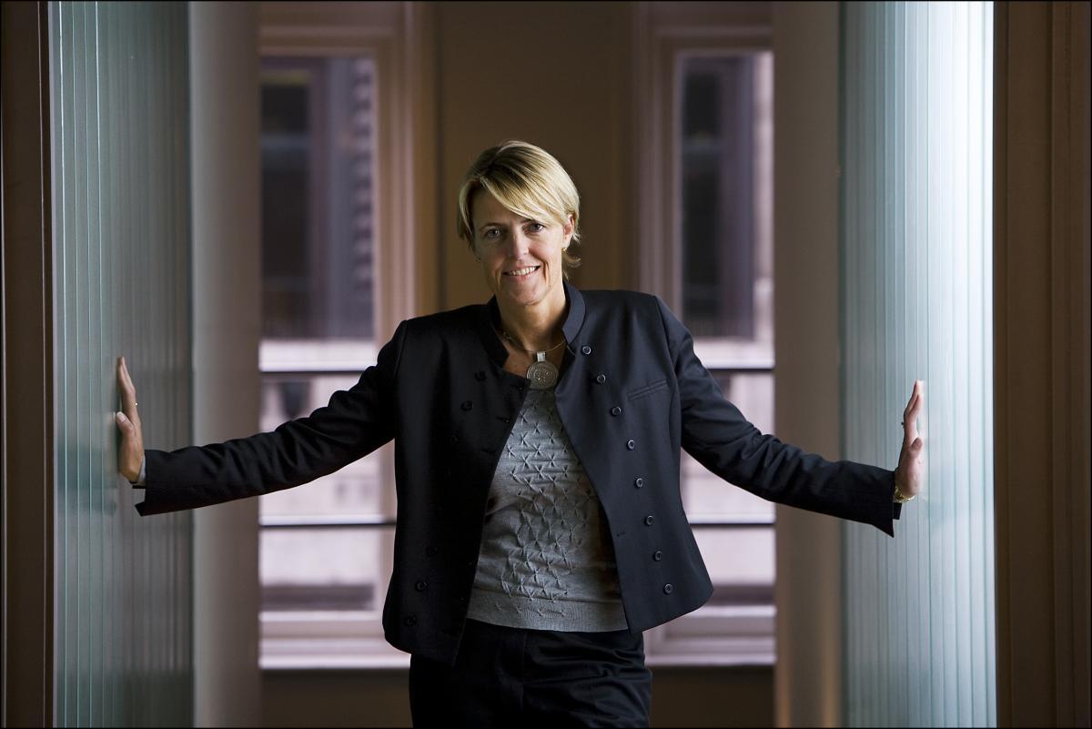 Capgemini Christine Hodgson - TOP 50 employers for women