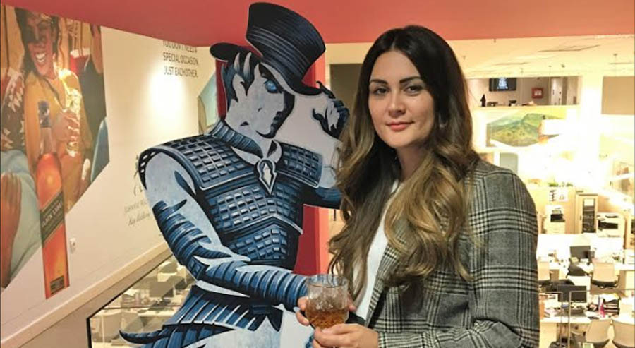 Diageo's Zoe Genouzi in sales