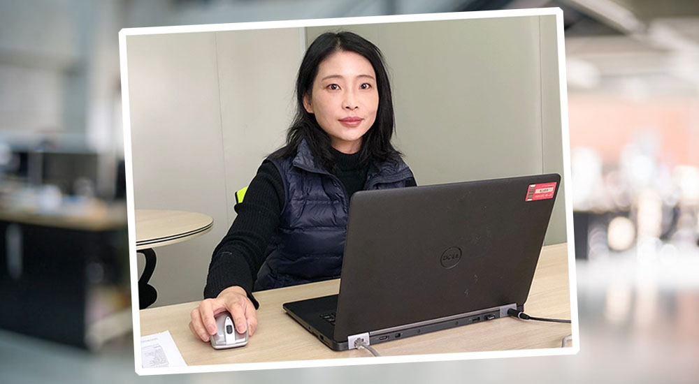 Exyte Joyce Tang Cleanroom graduate
