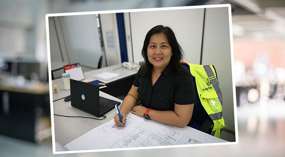 Mentoring coaching Exyte graduates - Yeo Ling - Engineering - Malaysia