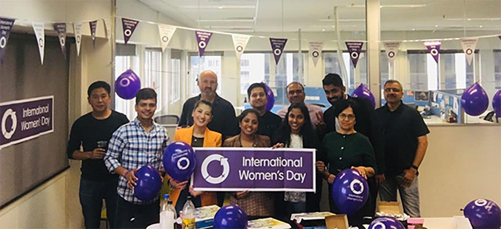 HCL international women's day global activity