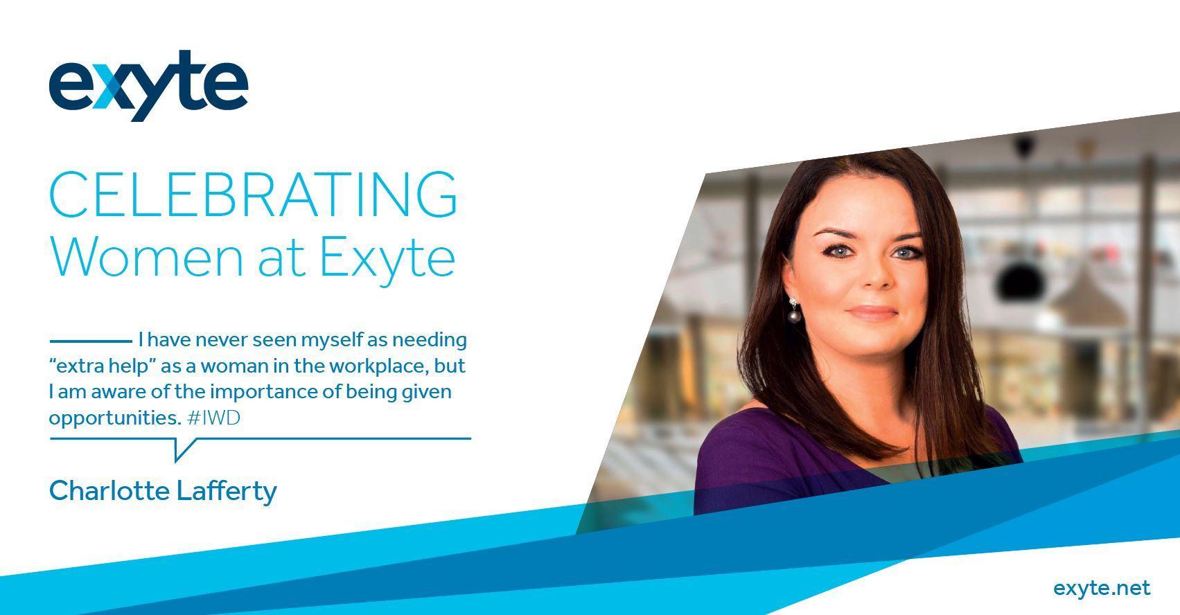 IWD - Exyte: Charlotte Lafferty.