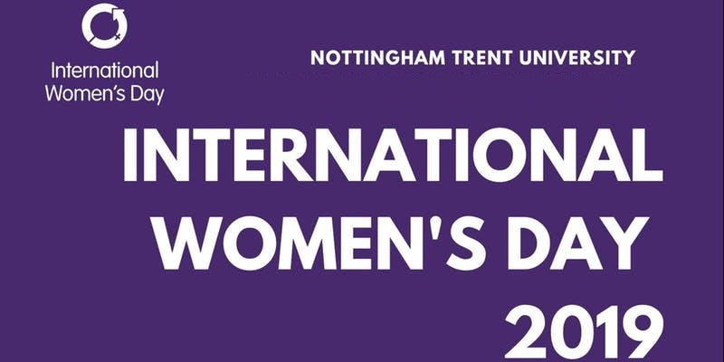 Nottingham Trent University IWD women event