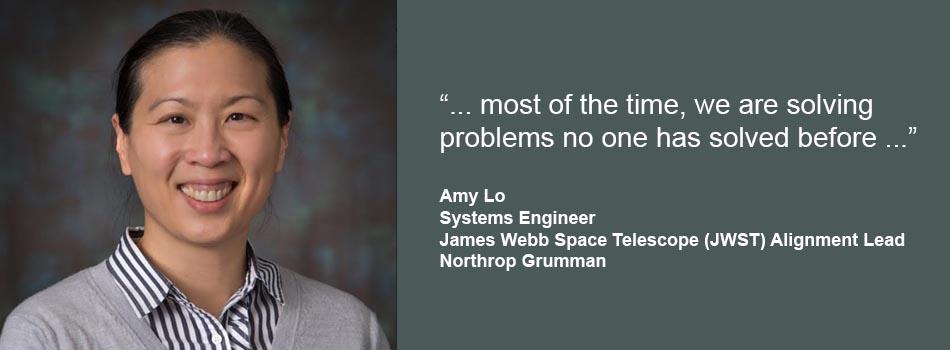 Amy Lo at Northrop Grumman