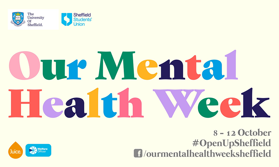 University Sheffield - mental health week