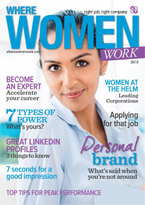 Where Women Work magazine 2015