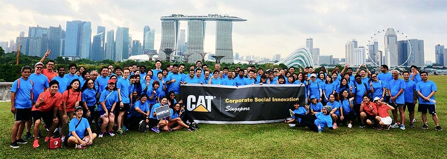 Caterpillar social innovation