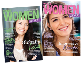 Where Women Work 2014 magazine