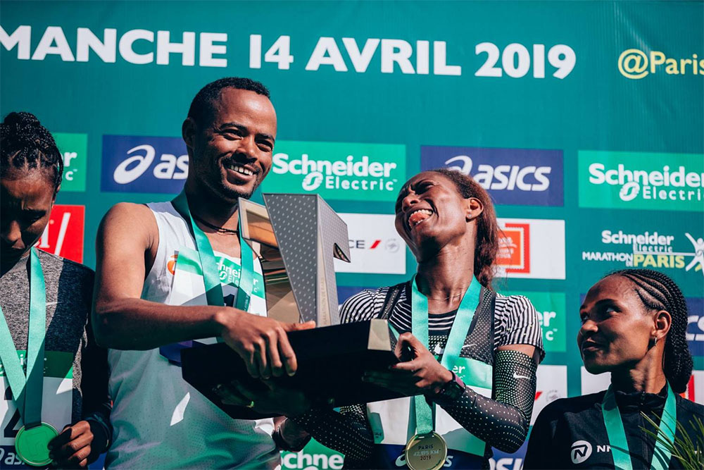 Schneider Electric - Paris marathon winners