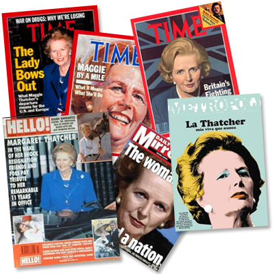 "Margaret Thatcher - ""figure of awe for her personal strength and grit"""