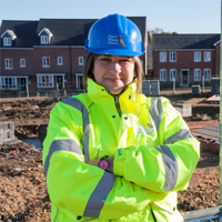 First female site manager for David Wilson Homes South Midland