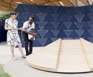 AECOM Amy helps turn Serpentine Pavilion vision into reality