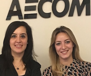Hande inspires next generation of engineers at AECOM