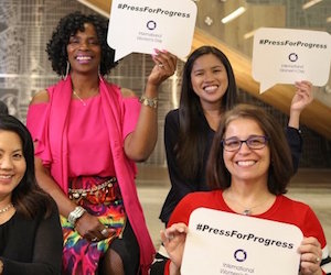 AECOM Samantha Stanbridge will Press for Progress this International Women Day