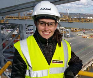 AECOM Maritime Structures Engineer Nerea wins awards