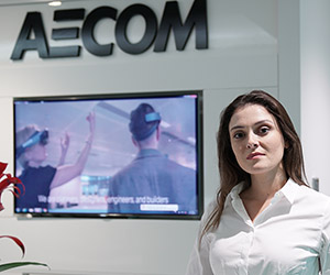 AECOM Middle East architect Nikoleta designs, plans & creates