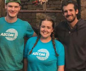 AECOM's Lauren Woodward helps further Peruvian girls' education