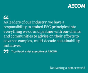 AECOM Sustainable Legacies strategy its cites female focus