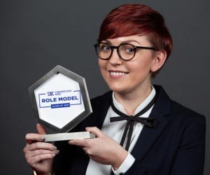 AECOM construction project manager wins award as role model