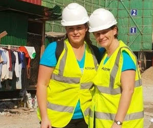 AECOM sees hope for Cambodian women in construction industry