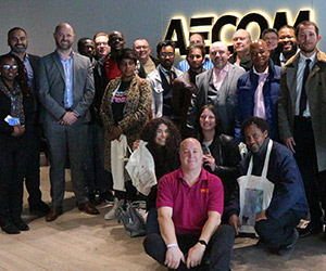 AECOM Aldgate Dragons Den event