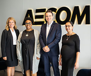 AECOM International Women in Engineering Day podcast rocks