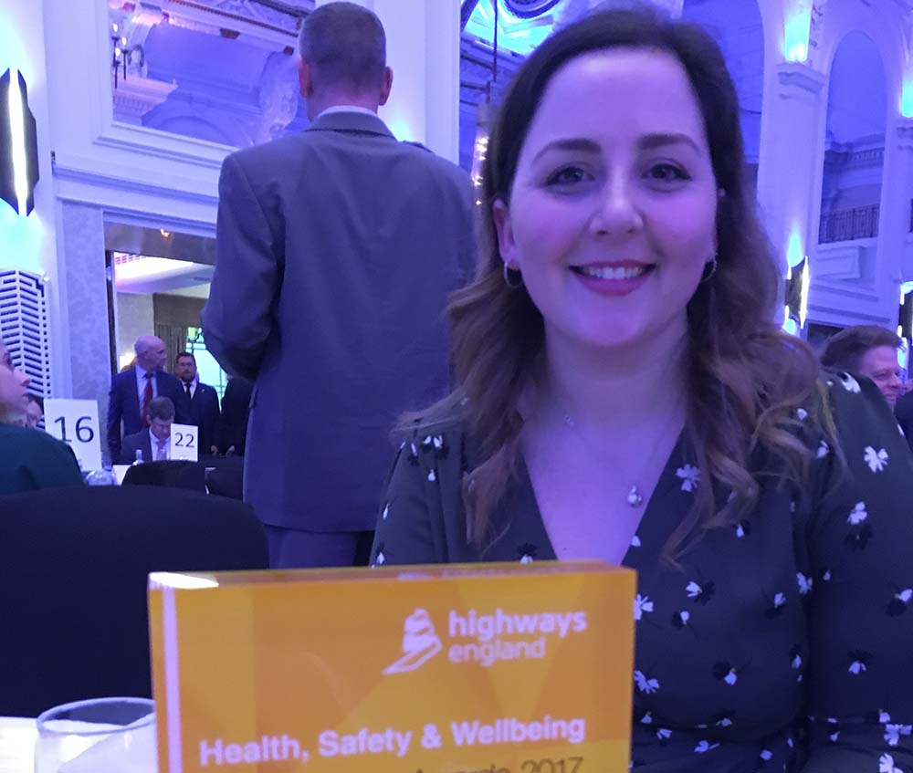 AECOMs Jess is Health and Safety graduate of the year