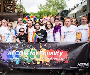 AECOM at Pride London