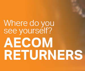 AECOM attracting professionals back to work via returner programme