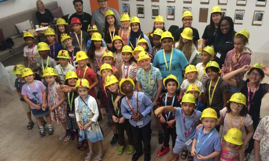 AECOM Open House day inspires next generation of engineers