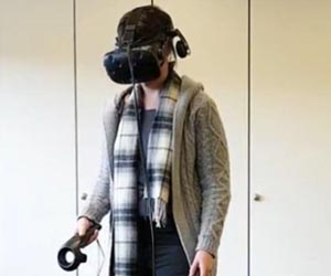 AECOM graduate works on 3D visualization and virtual reality