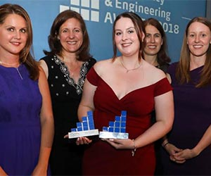 AECOM apprentice Charlotte scoops two awards
