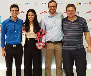 AECOM graduate is part of award-winning hackathon team
