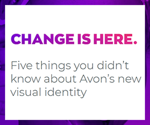Design team reveals meaning behind Avons new visual identity