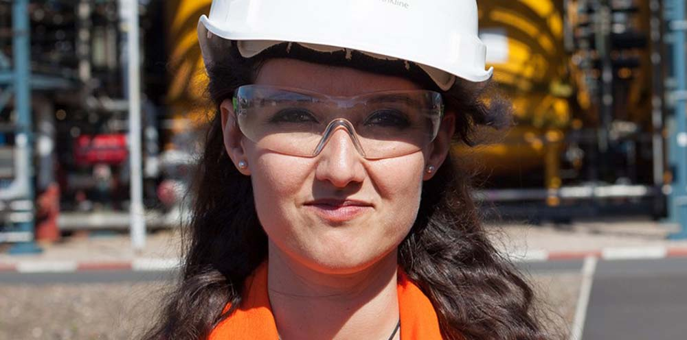GSK Electrical Engineer Alicia works on a huge Panama project