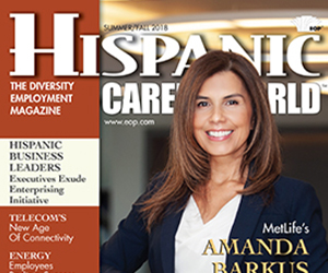 MetLifes Amanda Barkus in Hispanic Career World Magazine