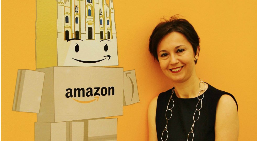 Amazon Italy woman country manager