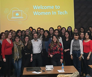 Amazon Web Services hosts tech event for women