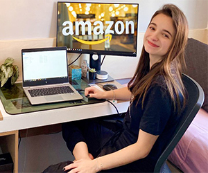 Amazon hosted 8,000+ interns in a virtual summer internship