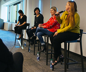 Female Amazon leaders panel shares advice