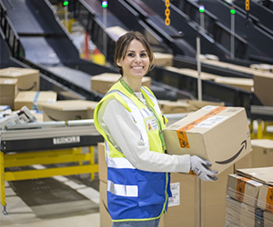 llaria finds time for both ambitious career and family life at Amazon