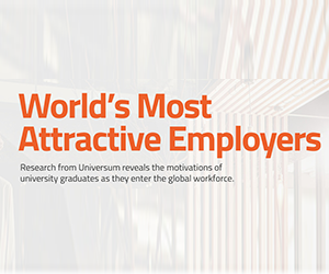 Amazon celebrated as a Worlds Most Attractive Employer