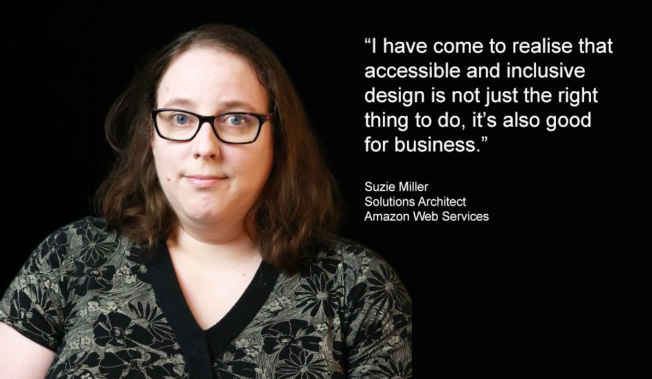 Amazon Solutions Architect understands the value of inclusivity