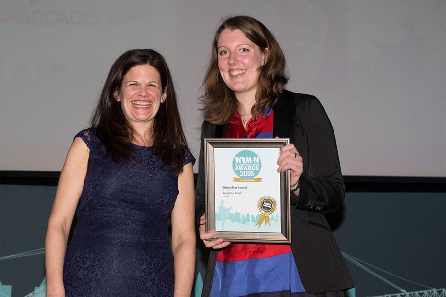 Arcadis teams inspire chartered surveyor Georgina Ablett