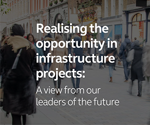 Arcadis showcases views of future infrastructure leaders