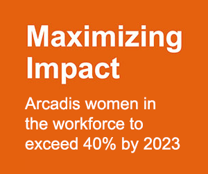 Arcadis aims for over 40% female workforce by 2023