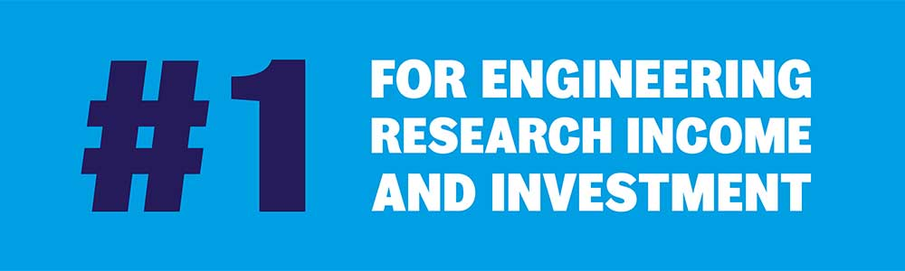 University of Sheffield is top in UK for engineering research
