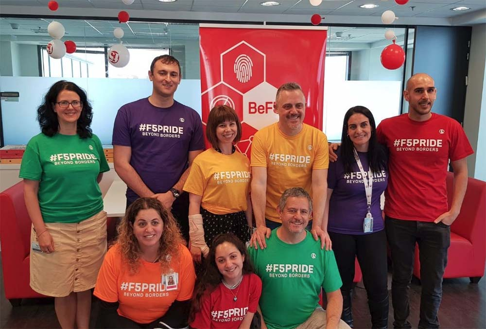 #BeF5 Day celebrated across the globe by F5 employees
