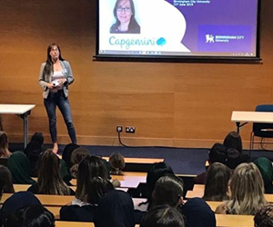 Capgemini supports women in tech at Birmingham City University